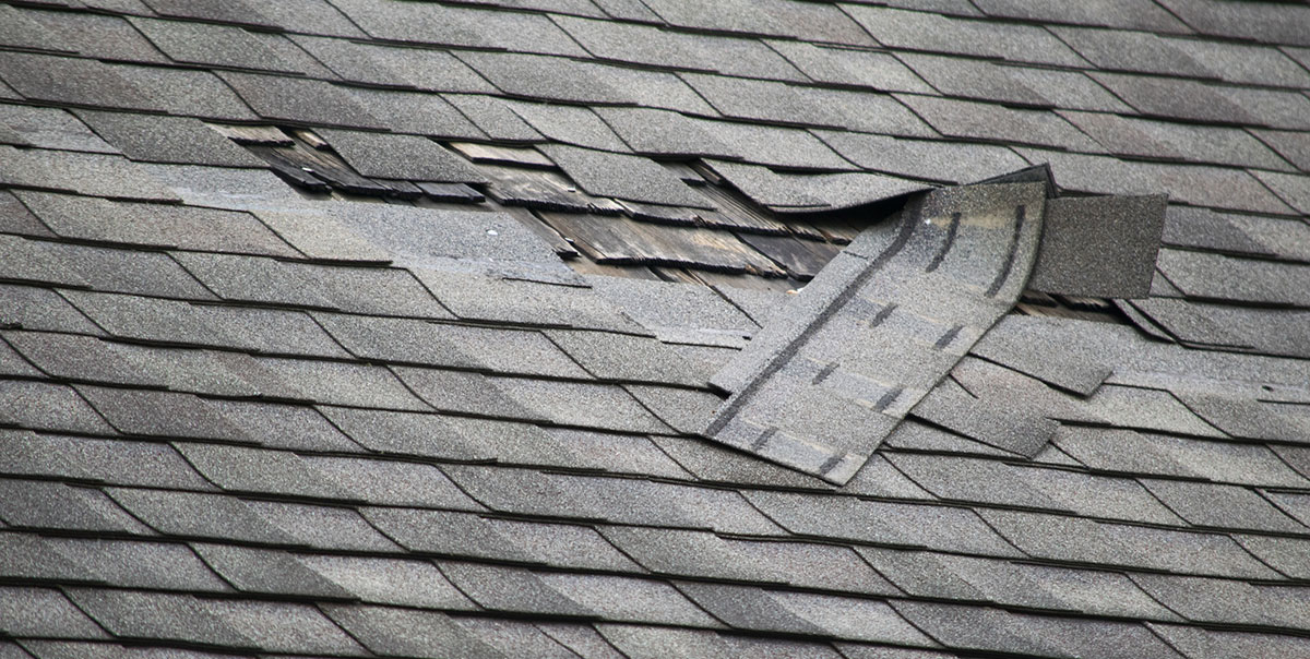 Lost Shingles In A Windstorm