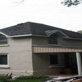 after roof pro plus shingle installation