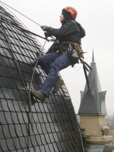 always safety first in roofing business