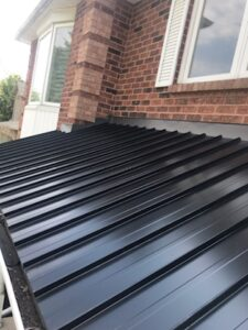standing seam portch roof